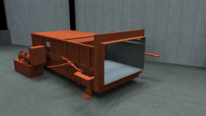 Industrial Stationary Compactor 5260