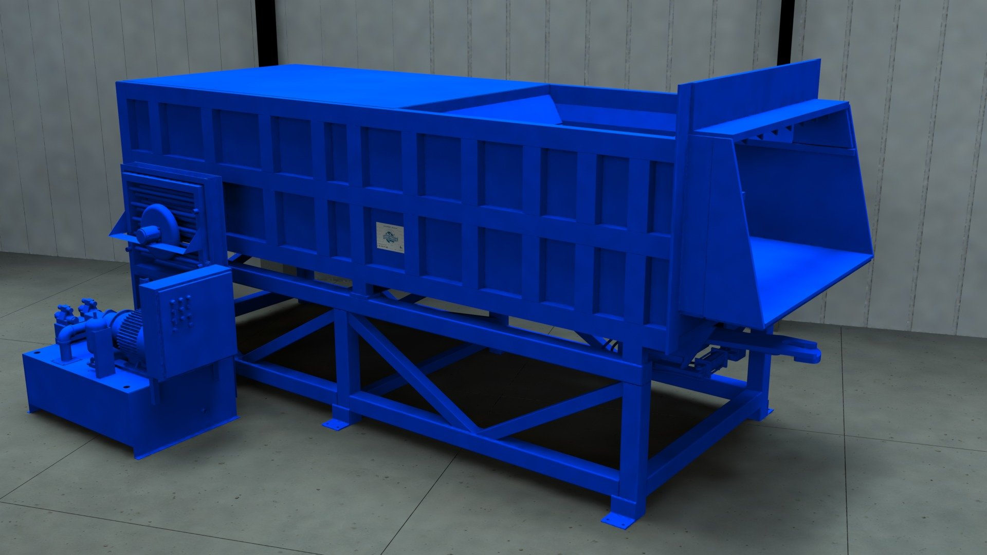 Sebright Products Transfer Station Model 9884T