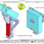 Model CD-1-4-16 latch Bar style
