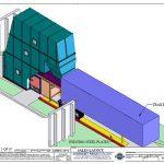 LA Series Hydraulic Cart Dumper sales layout