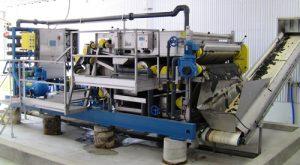 skid mounted belt filter presses