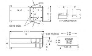 Portable compacction equipment drawing