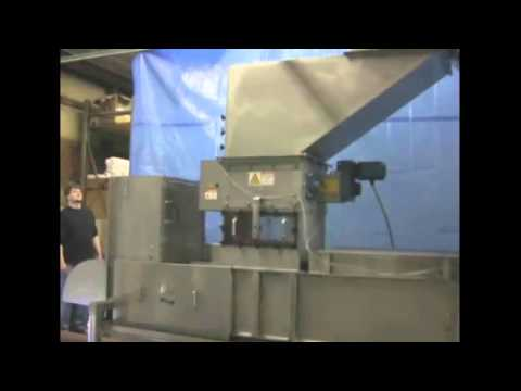 Xtractor Depackaging Bottles and Compacting