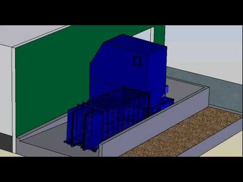 Self-Contained Sliding Platform Animation