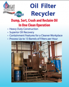 Oil Filter Recycler