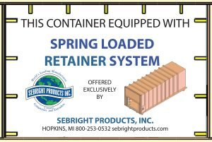 Srping Loaded Retainer system