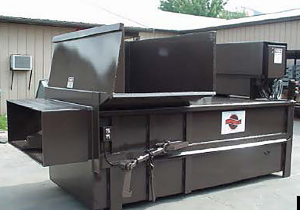 Statinary Self-contained compactor model SSC4660