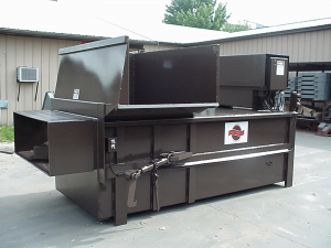 stationary self-contained compactor model ssc4660