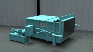 Sebright Model 3860 stationary compactor
