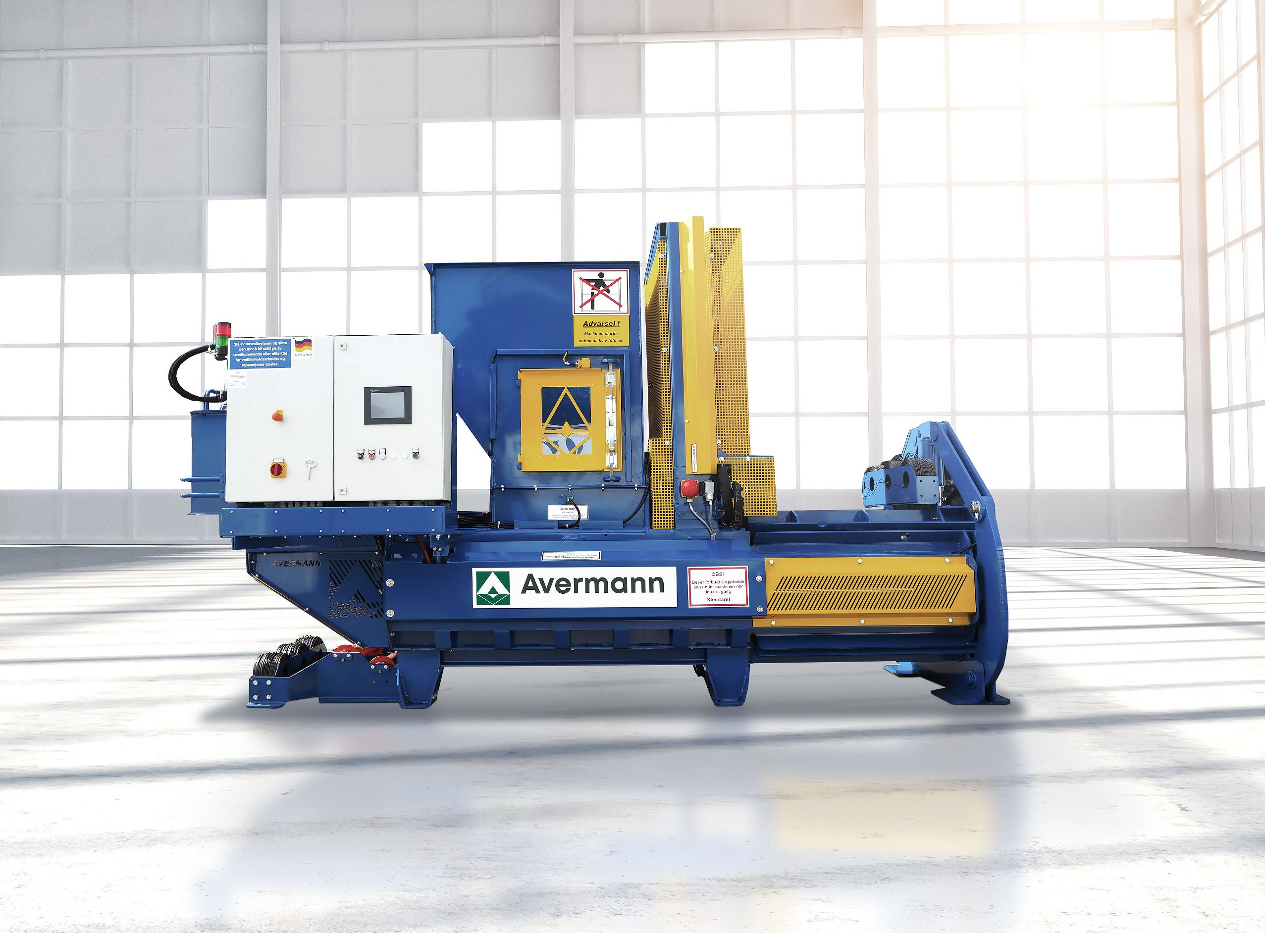 Horizontal auto-tie Baler Sebright - Avermann